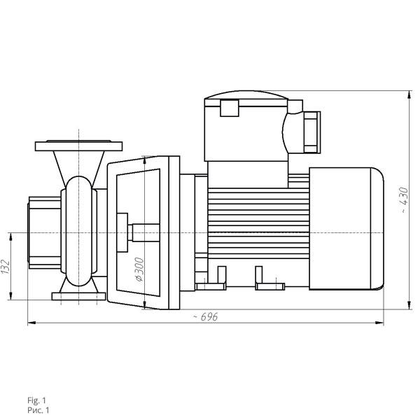 Агрегат насосный АН 80-65-160