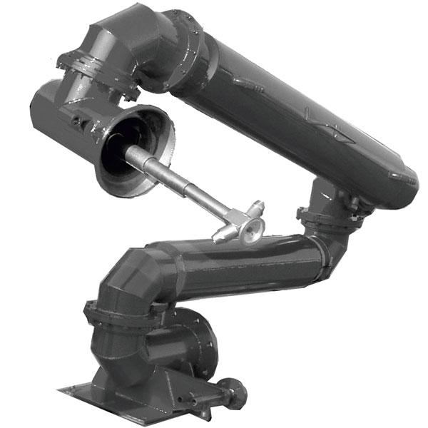 Установка нижнего слива УСН-175/5ГП и УСН-200/5ГП с гидромонитором