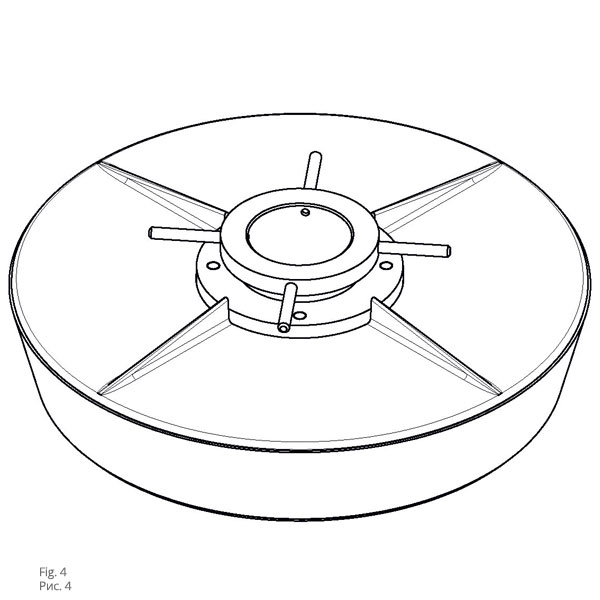 Крышки для герметизации цистерн